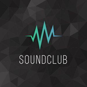 Soundclub – Audio wave geometric vector logo free logo preview