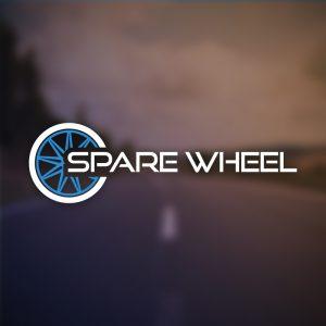 Spare Wheel – Car tire vector logo design free logo preview