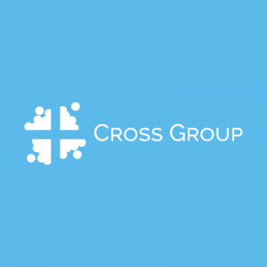 Cross Group – Cloud cross vector logo religion free logo preview
