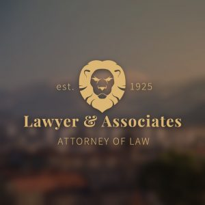 Lawyer and Associates – Lion legal vector logo free logo preview