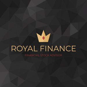 Royal Finance – Crown logo vector design free logo preview