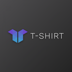 T-shirt – Geometric abstract vector logo free logo preview