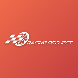 Racing Project – Automotive tire flag vector logo free logo preview