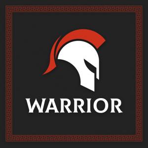Warrior – Spartan helmet soldier logo vector free logo preview