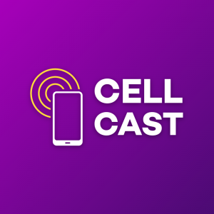 Cell Cast – Mobile phone signal logo vector free logo preview