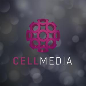 Cellmedia – Free 3D circle abstract logo vector free logo preview