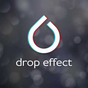 Drop Effect – Minimal water drop logo vector free logo preview