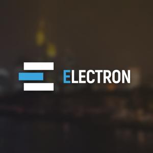 Electron – Minimal business logo vector free logo preview