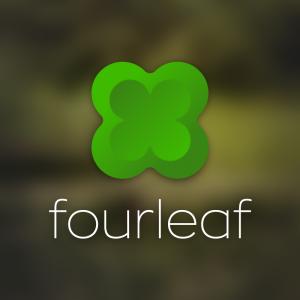 Fourleaf – Vector four leaf clover logo free logo preview