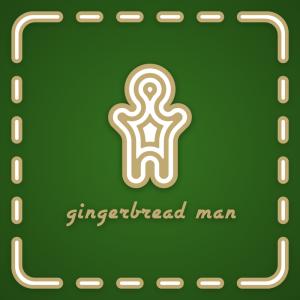 Gingerbread Man – Holidays logo vector mascot free logo preview