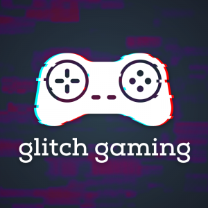 Glitch Gaming – Anaglyph game controller logo free logo preview