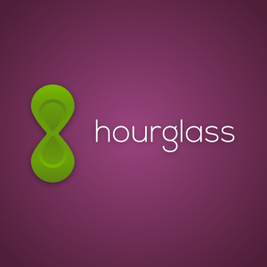 Hourglass – Geometric abstract logo design free logo preview