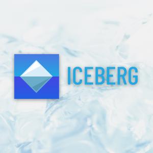 Iceberg – Free geometric ice cube logo vector free logo preview
