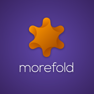 Morefold – Free geometric abstract logo vector free logo preview