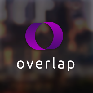 Overlap – Abstract geometric logo download free logo preview