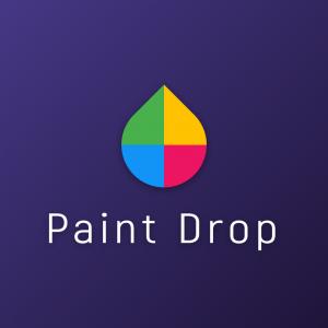 Paint Drop – Colorful geometric logo download free logo preview