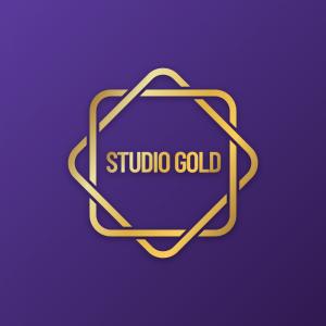 Studio Gold – Golden jewelry logo vector design free logo preview