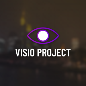Visio Project – Free geometric eye logo vector free logo preview