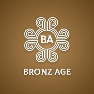 Bronz Age – Geometric letter BA logo vector free logo preview