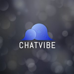 Chatvibe – Free speech bubble chat logo vector free logo preview