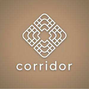 Corridor – Geometric architecture logo vector free logo preview