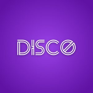Disco – Free text only editable logo download free logo preview