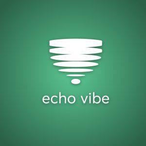 Echo Vibe – Free sound geometric logo vector free logo preview