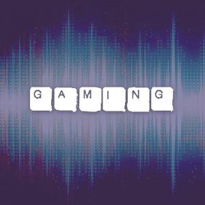 Gaming – Free text only grunge keyboard logo free logo preview