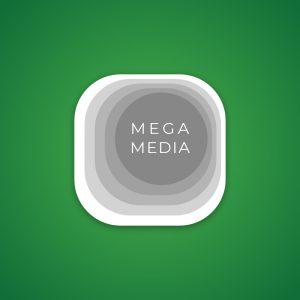 Mega Media – Free modern business logo vector free logo preview