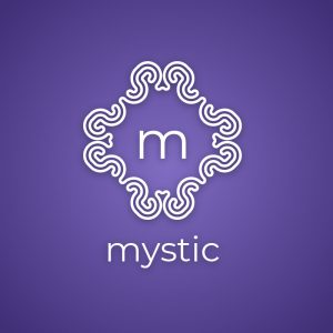 Mystic – Free mystical geometric religious logo free logo preview