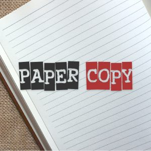 Paper Copy – Free text only logo download free logo preview