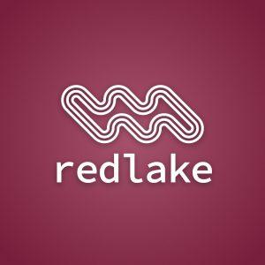 Redlake – Free geometric outline logo vector free logo preview