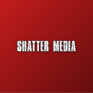 Shatter Media – Broken text only logo download free logo preview