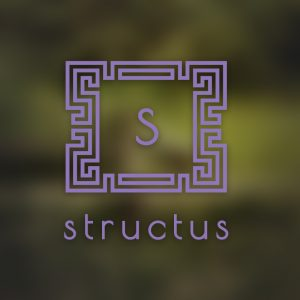 Structus – Letter S geometric architecture logo free logo preview