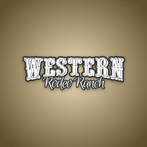 Western – Free text only rodeo cowboy logo free logo preview