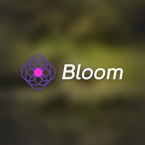 Bloom – Free abstract flower logo download free logo preview