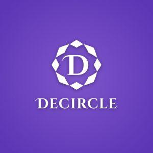 Decircle – Free minimal medieval logo design free logo preview