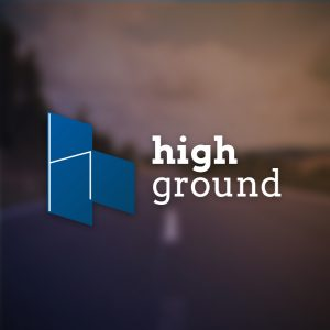 High ground – Isometric letter H logo vector free logo preview