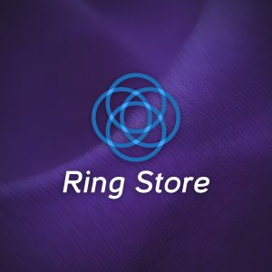 Ring Store – Free geometric circle jewelry logo free logo preview