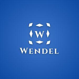 Wendel – Minimal medieval letter W logo vector free logo preview