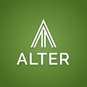 Alter – Free abstract triangle pillar logo free logo preview