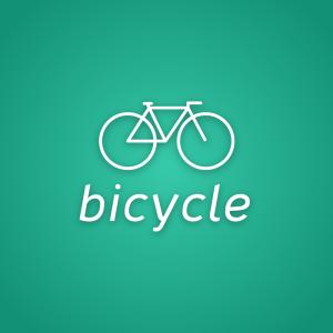 Bicycle – Free sports transport logo download free logo preview
