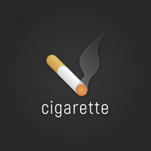 Cigarette – Free smoking cigar logo vector free logo preview