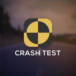 Crash test – Free fiducial marker logo vector free logo preview