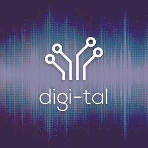 Digi-tal – Electric circuit tech logo vector free logo preview