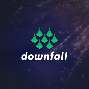 Downfall – Free abstract pattern logo vector free logo preview