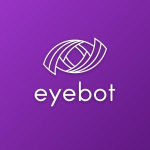 Eyebot – Free abstract tech eye logo download free logo preview