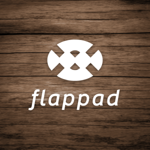 Flappad – Free abstract logo vector download free logo preview