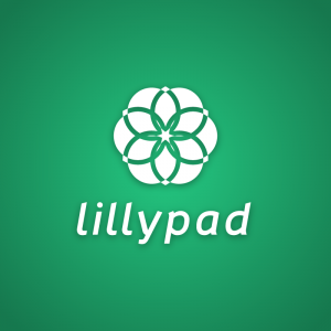Lillypad – Free abstract water lily plant logo free logo preview
