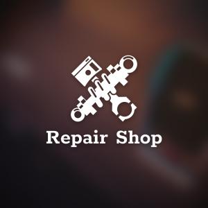 Repair Shop – Free car piston rod coilover logo free logo preview
